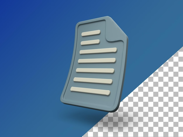 Bestand document 3d bestand render file