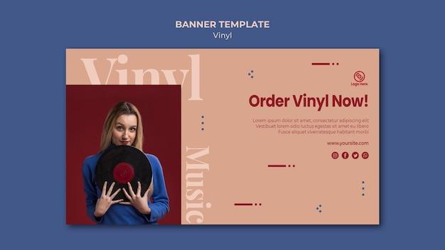 Bestel nu vinyl bannermalplaatje