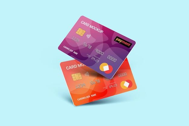 Betaalpas smart card plastic kaartmodel