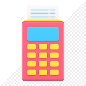Betaling 3d-pictogram