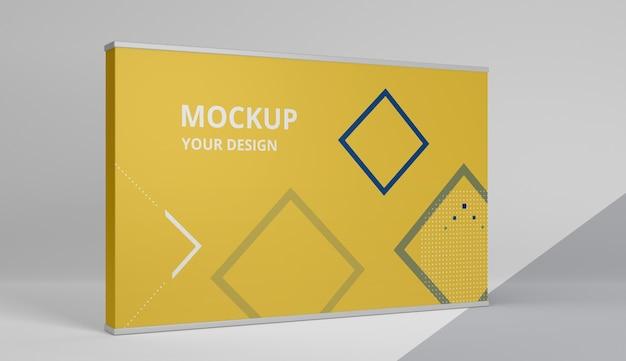 Beursstand mock-up assortiment