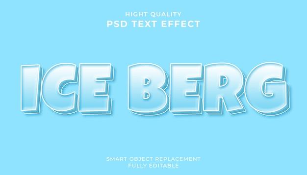 Bewerkbaar teksteffect.