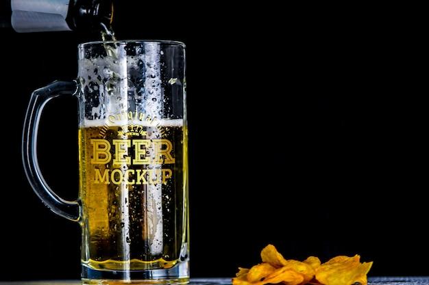 Bier mockup