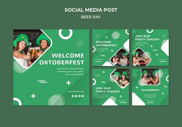 Bierdag sociale media postconcept