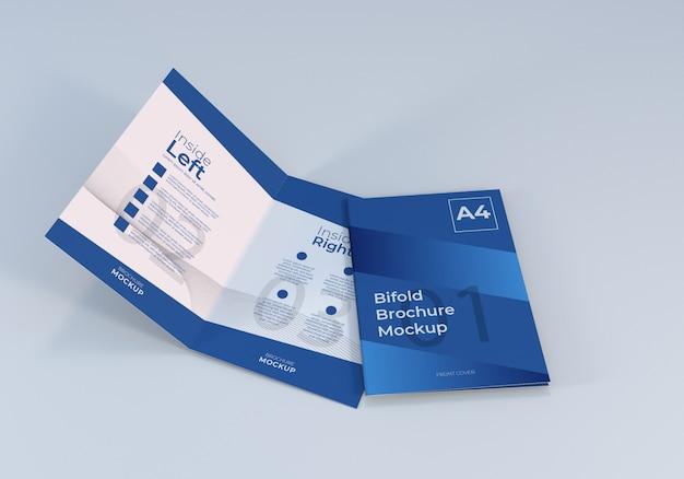 Bifold brochure template modello di progettazione