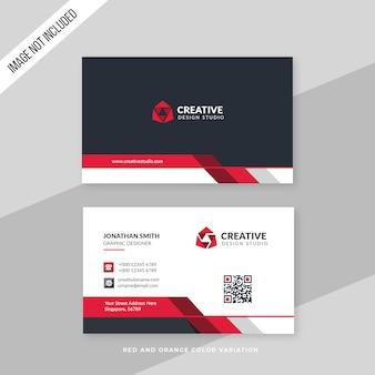 Biglietto da visita creativo