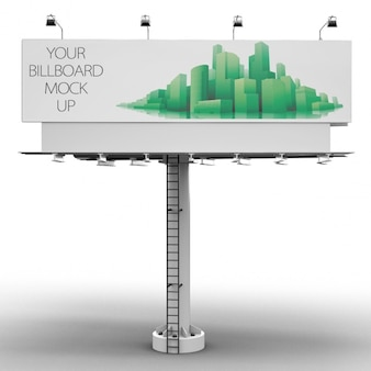 Billboard mock up design