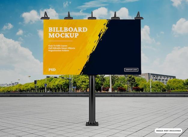 Billboard mockup ontwerp geïsoleerd