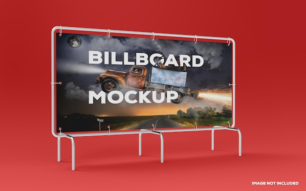 Billboard mockup ontwerp