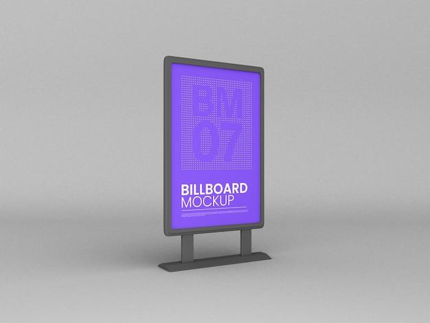 Billboard-model met verticale standaard
