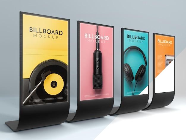 Billboard studio mock-up
