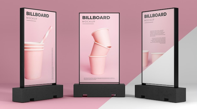 Billboard studio mock-up