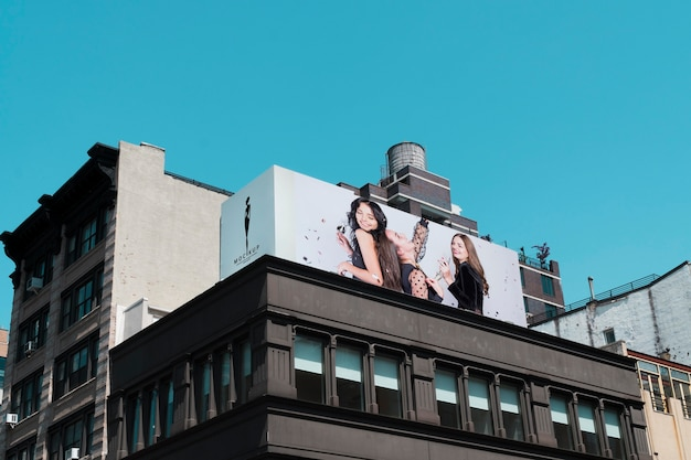 Billboard teken concept mock-up