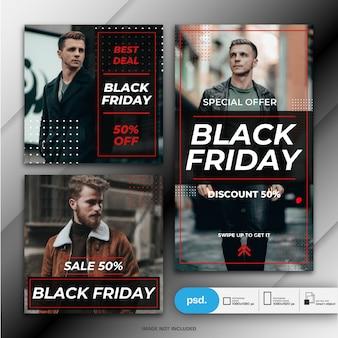 Black friday-bannermalplaatje