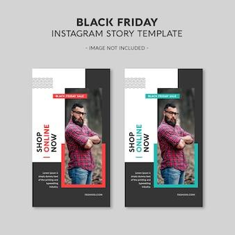 Black friday instagram-verhaalsjabloon