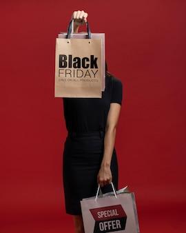 Black friday verkoop publiciteitscampagne