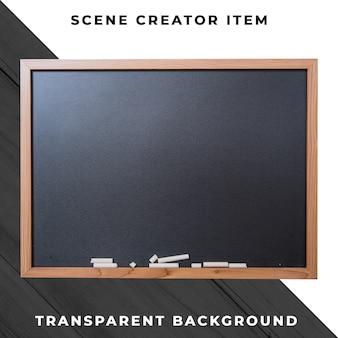 Blackboard object transparant psd