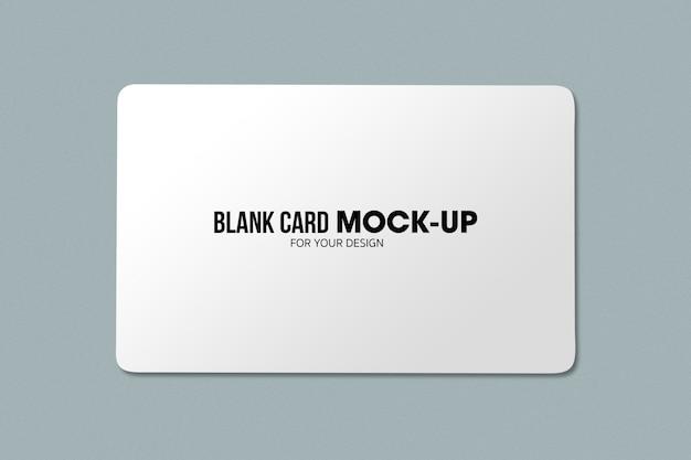 Blanco bedrijfs- of naamkaartmodel