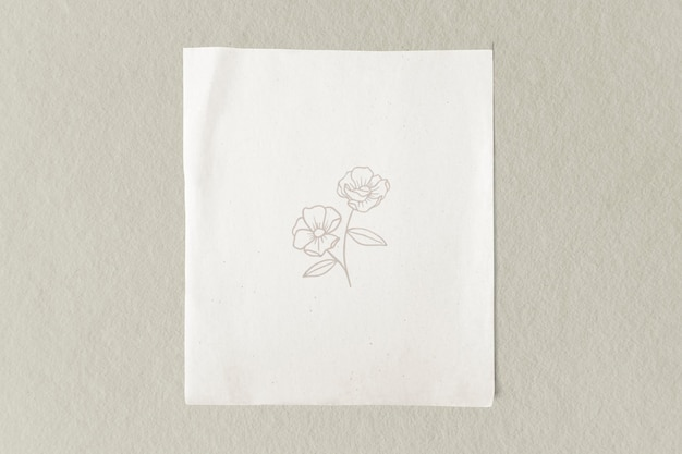 Blanco, gewoon wit papiersjabloon