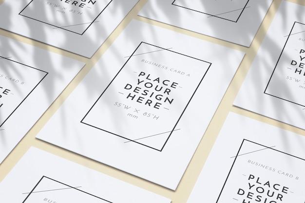 Blanco zakelijke posters patroon