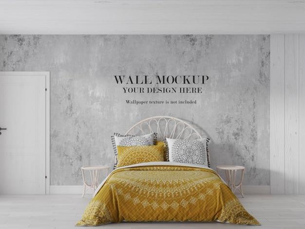 Blinde muur klaar voor uw design kunstbehang