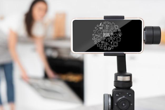 Blogger stelt mock-up van apparatuur op
