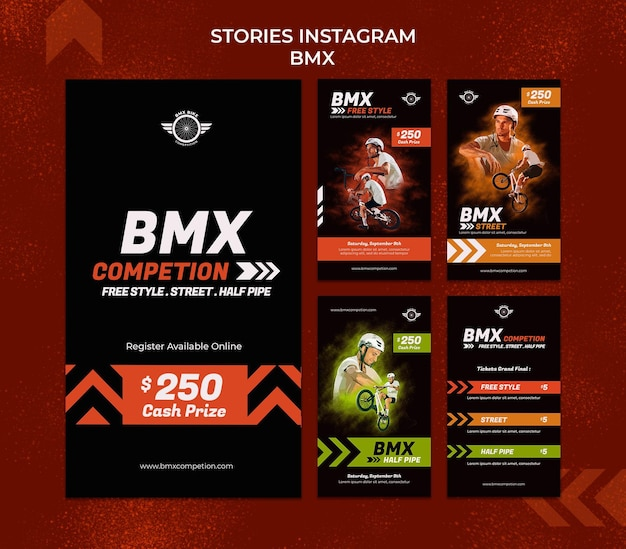 Bmx sociale media verhalen