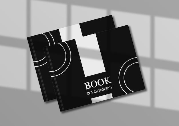 Boekomslagmodelontwerp met elegante schaduw