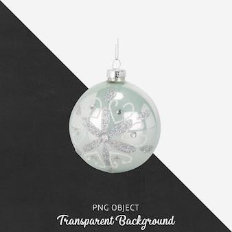 Bola de navidad en transparente