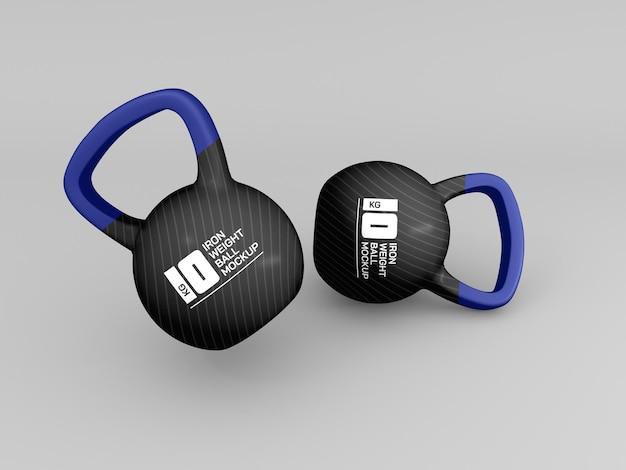 Bola de peso para maqueta de entrenamiento