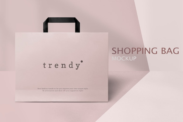 Bolsa de compras editable
