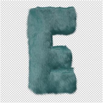 Bont letters 3d-rendering