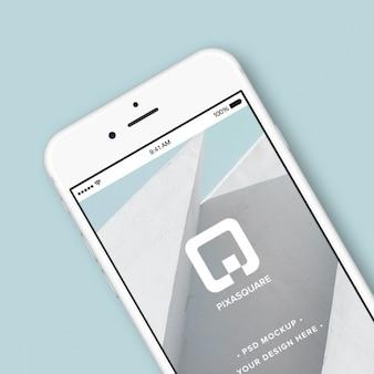 Bosquejo con diseño de iphone