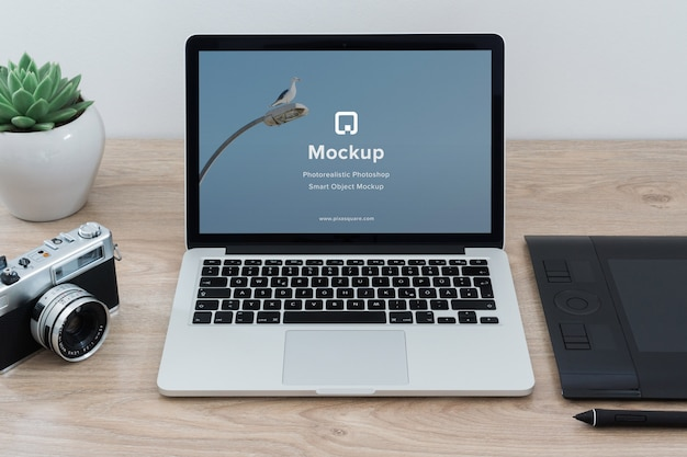 Bosquejo con diseño de mac