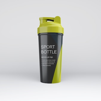 Botella de deportes maqueta