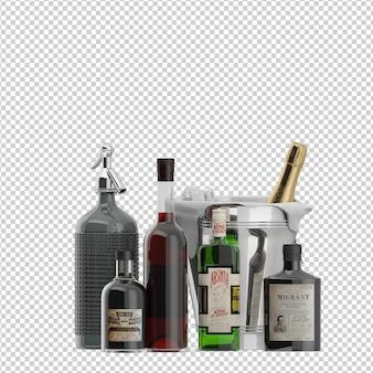 Botellas isométricas