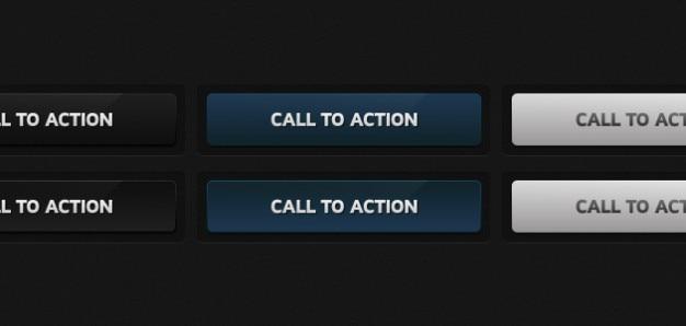 Botones de acción elementos de la web
