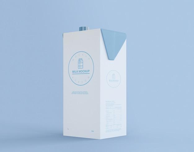 Bottiglia di latte mockup