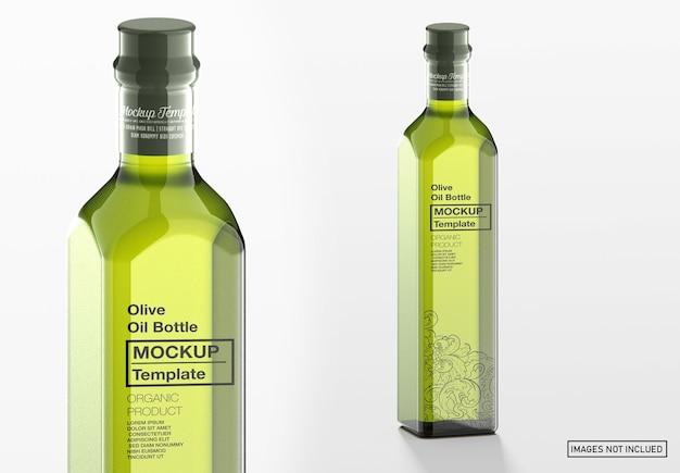Bottiglia di olio d'oliva mockup
