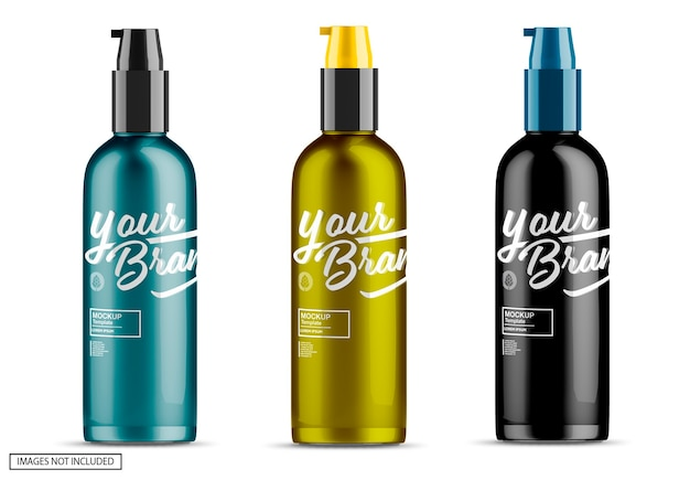 Bottiglia spray mockup
