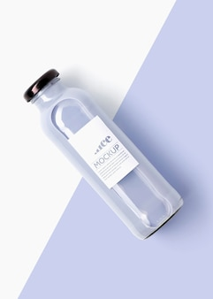 Bovenaanzicht heerlijke antioxidant smoothie