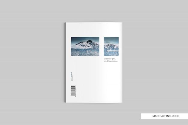Bovenaanzicht magazine mockup