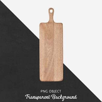 Bovenaanzicht van houten servies