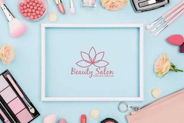 Bovenstaande make-up arrangement