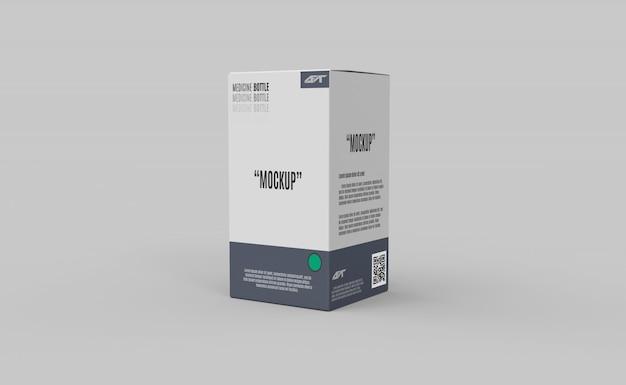 Box verpakking mockup