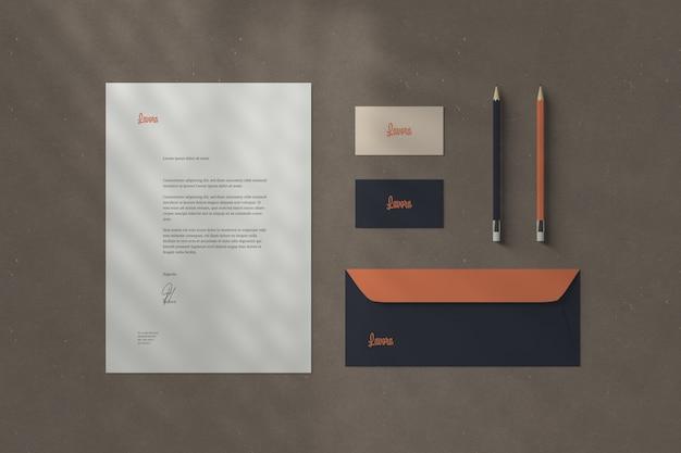 Branding / stationery mockups