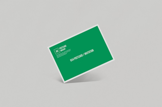 Briefkaartmodel