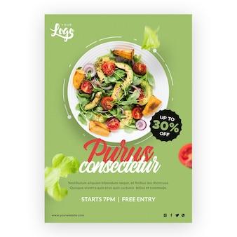 Briefpapier bio en gezond voedsel