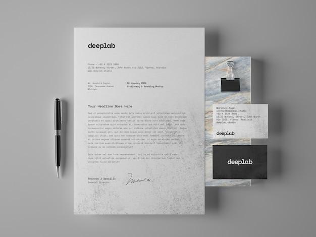 Briefpapier en visitekaartjes