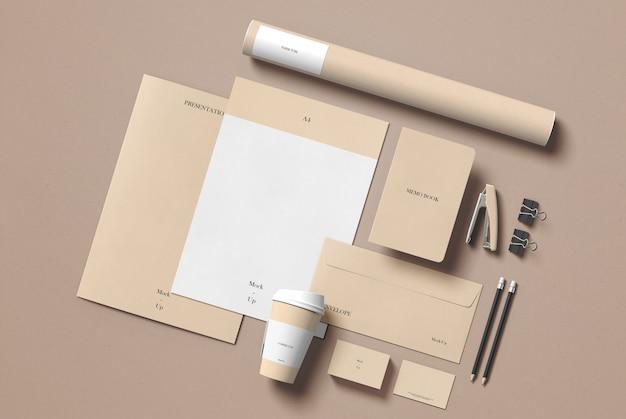Briefpapier mockup